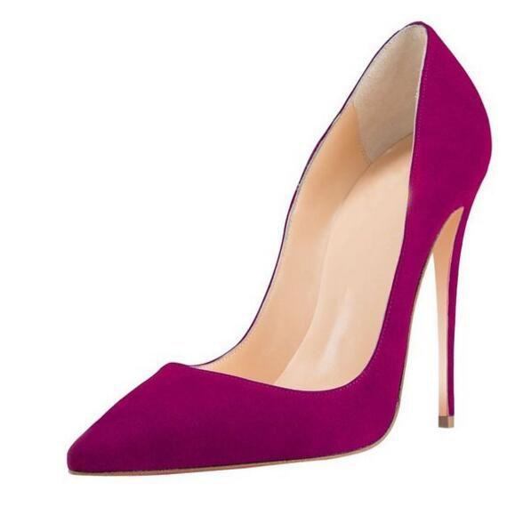 2016 Fashion Women High Heels Pumps Custom Made Plus Size US4-US15 Ladies Party Shoes Bridal Wedding Shoes Pumps Hot Sale Shoes Sexy