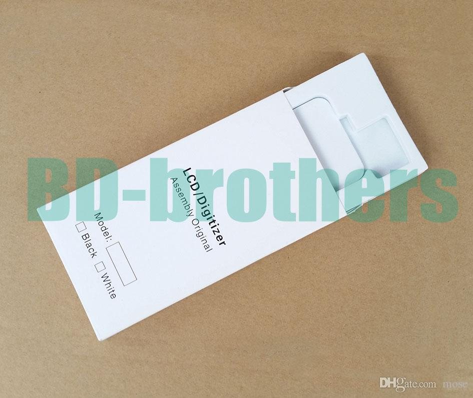 Wihte 종이 상자 +에 바 필러 케이스 아이폰 4 5 6 4.7 5.5 및 삼성 전화 LCD 화면 풀 세트 보호 포장 패키지