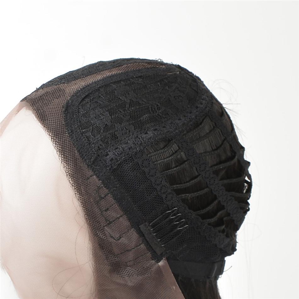 parrucca anteriore bionda del merletto dei capelli ricci L'onda crescente merletto sintetico prima del merletto 613 # colore biondo dei capelli colore misto donne ad alta temperatura della fibra bianca