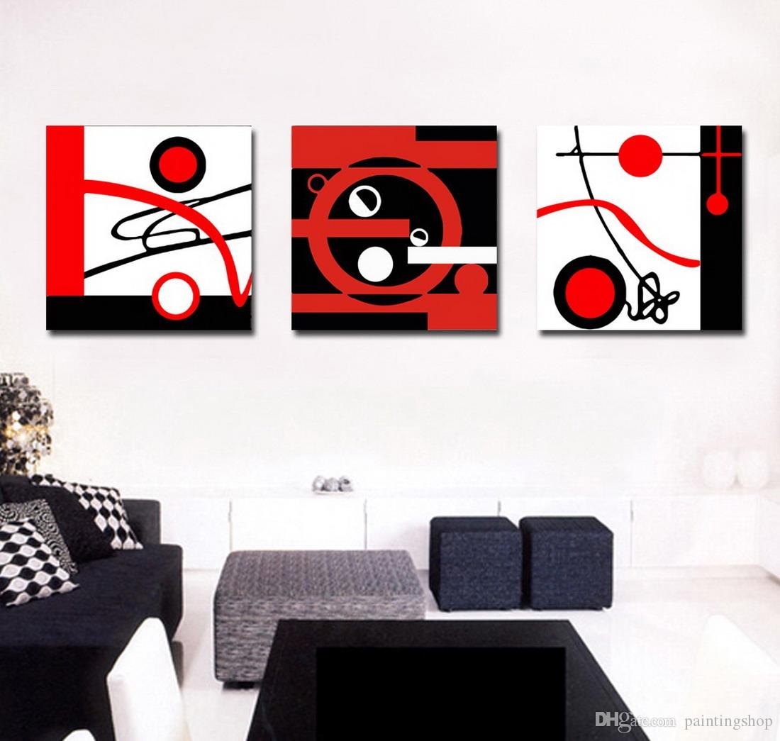 Modern Fine Abstract Painting Giclee Print On Canvas Wall Art Home Decoration Set30144