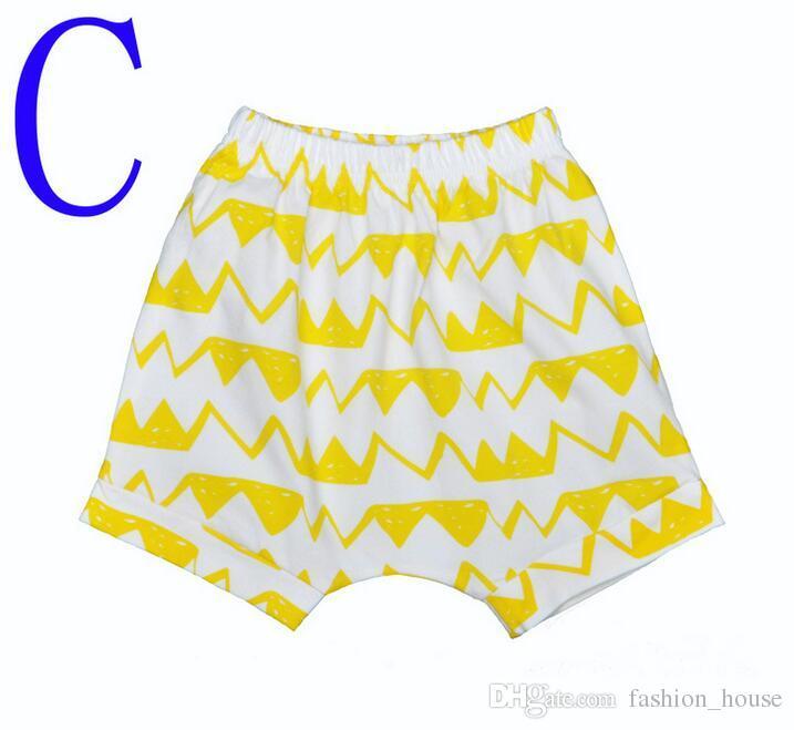 8 Design INS Kids PP pantalon bébé bambin garçon ins ins de renard panda roues de garçon garçon géométrique pantalon shorts
