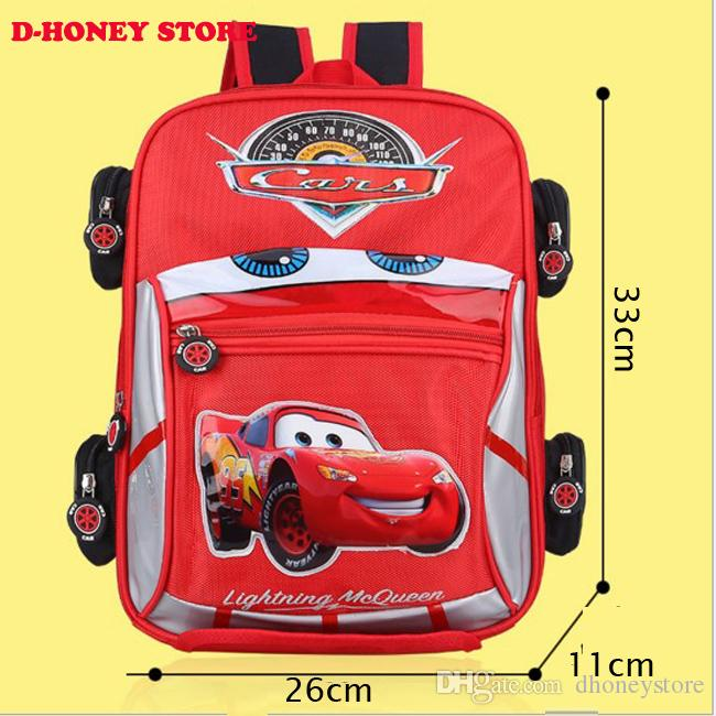 Good Quality 3d Car Backpack School Bag Children Anti Lost ...