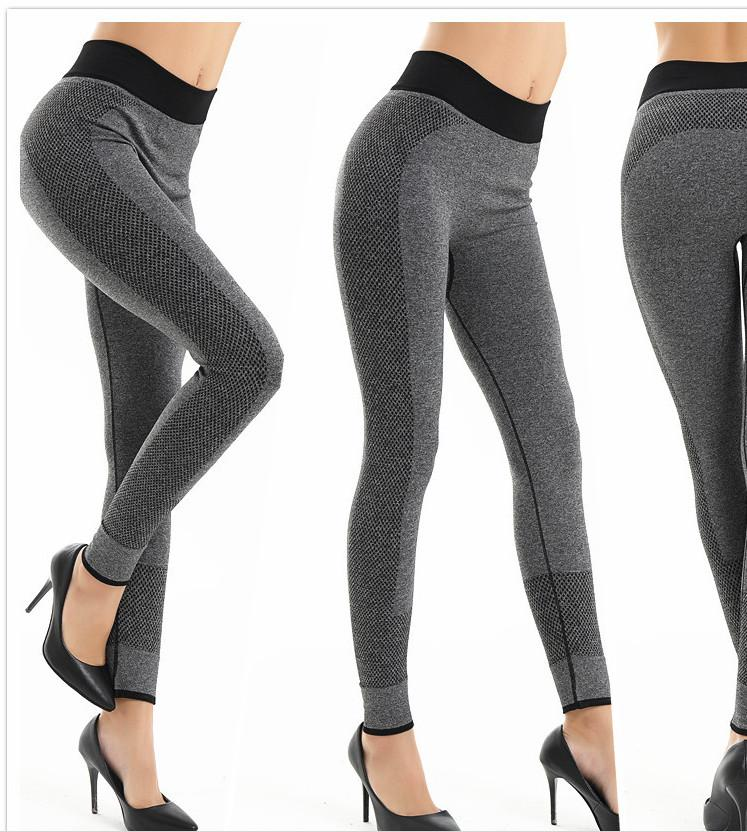 Hot Sale Women Yoga Gym Pants Sport Stylish Jogging Bottoms Joggers Track High Rise Workout Gym Tights leggings for autumn Winter DHL