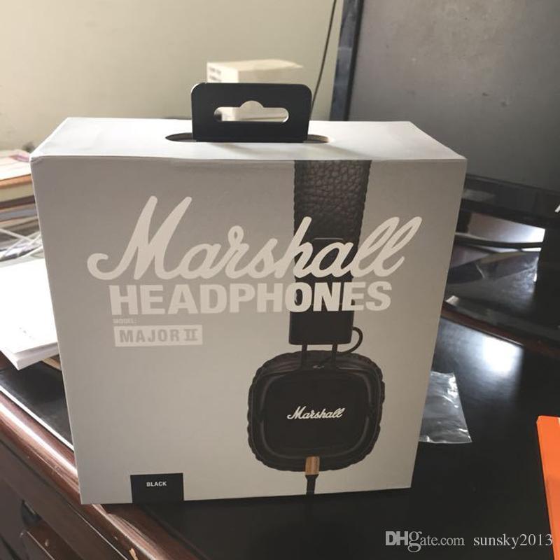 Маршалл майор II Bluetooth наушники с микрофоном глубокий бас DJ Hifi гарнитура профессиональный студийный монитор шумоподавления спортивные наушники