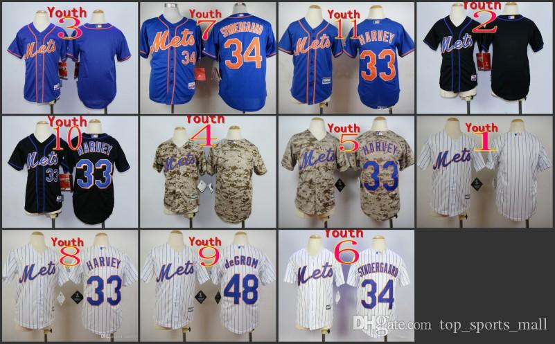 cd193d339c508 Compre Los Cabritos Cosieron Mlb Nueva York Mets 33 Harvey   48 ...