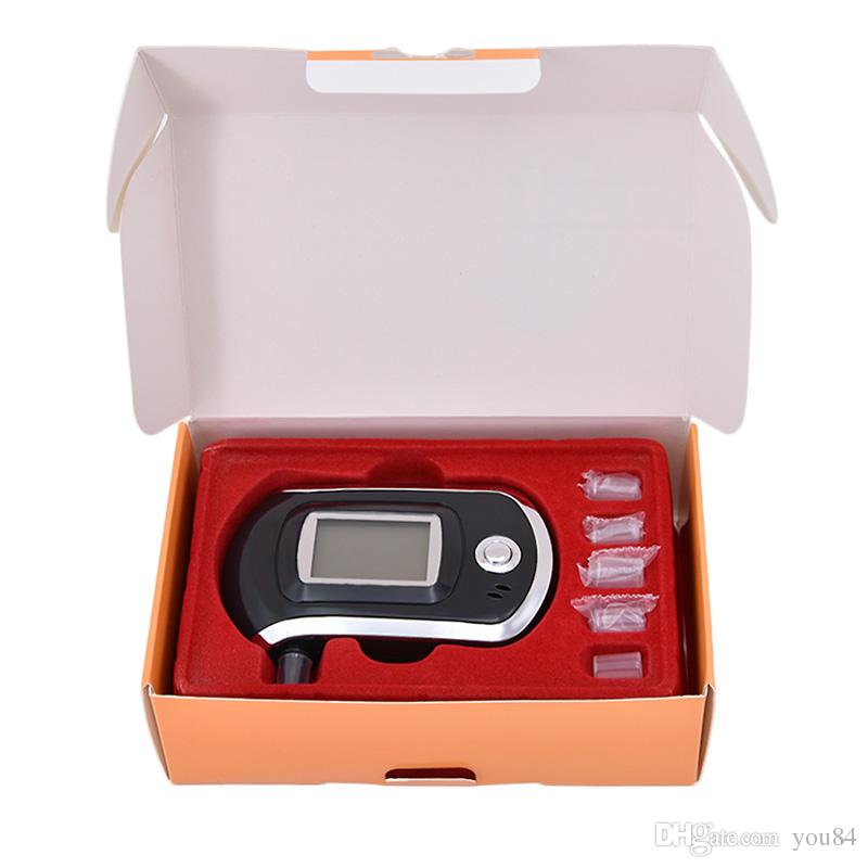 Hot Selling Portable Smart Breath Alcohol Tester Digital LCD Breathalyzer Analyzer AT6000