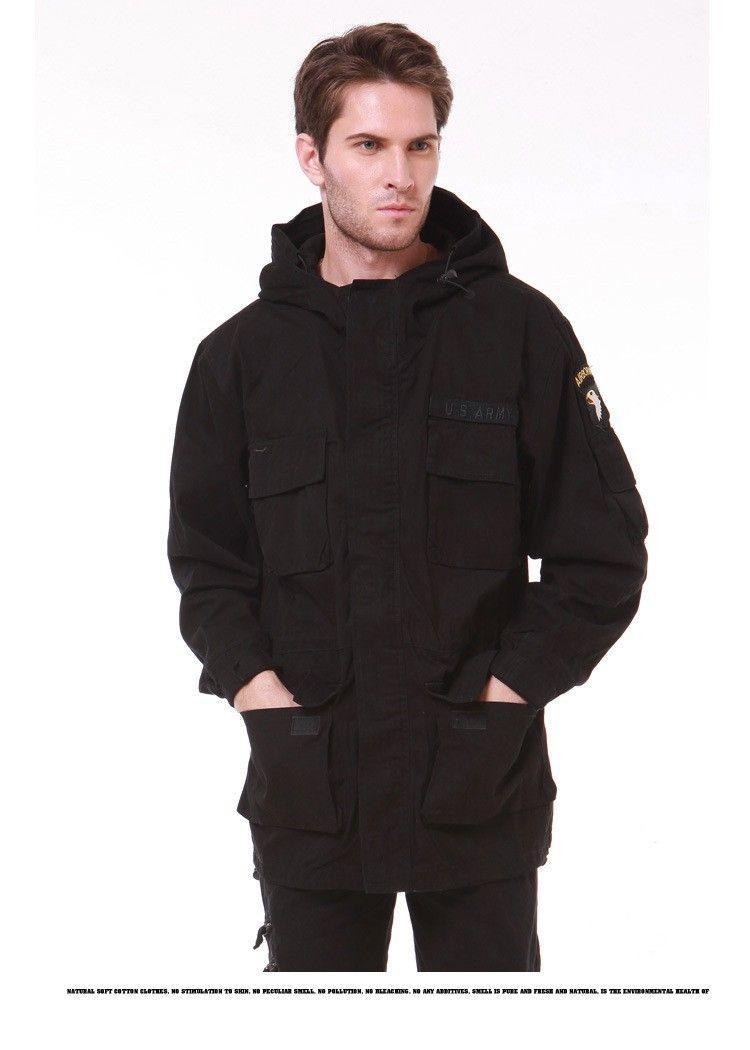 Chaquetas militares M65 del estilo para la capa del piloto de los hombres chaqueta del aire libre del bombardero de la fuerza aérea del ejército los EEUU 101