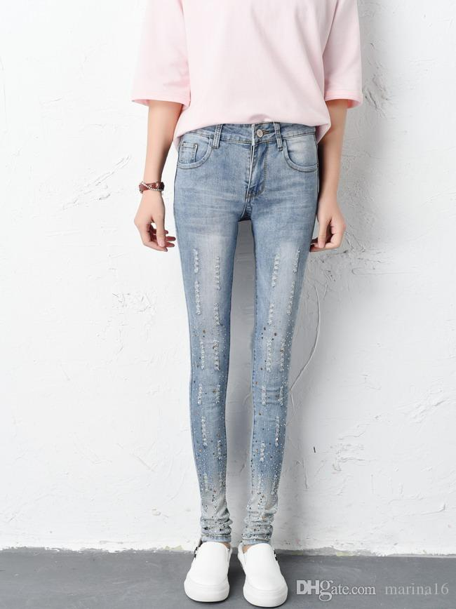 Like your in jeans skinny teen doing