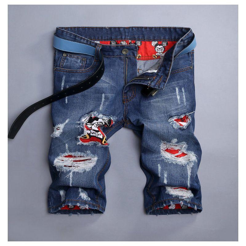2017 Wholesale Summer Fashion Japanese Jeans Shorts Men Casual ...