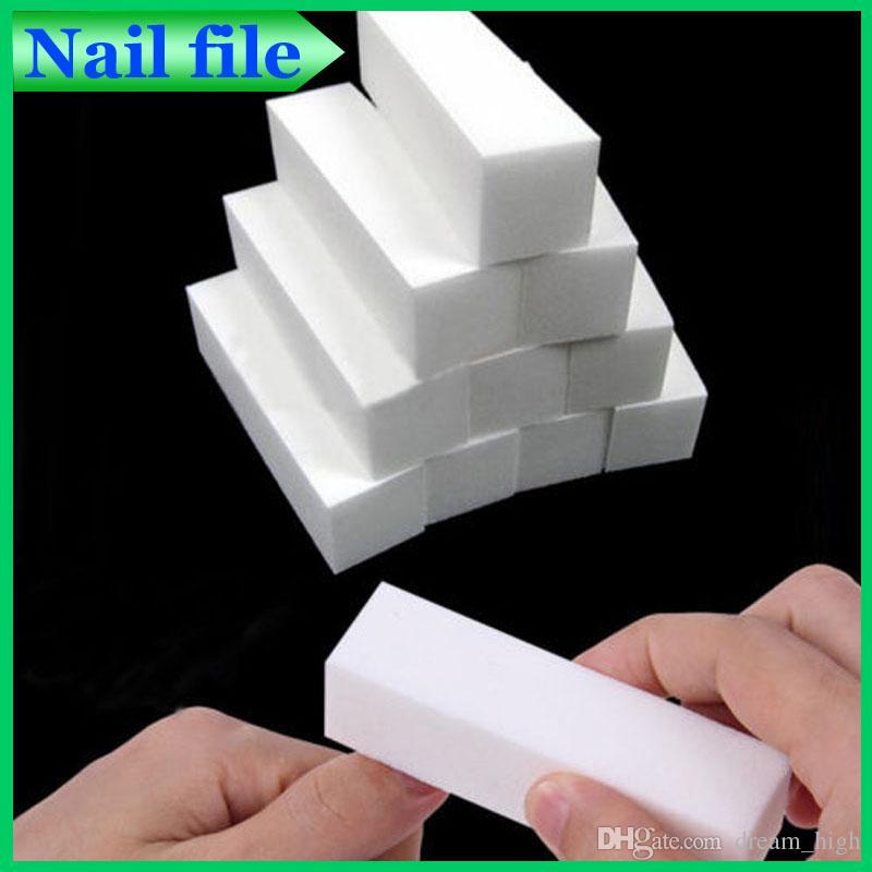 Sanding Nail File Buffer Block For Uv Gel Nail Polish Nail Art Tools ...