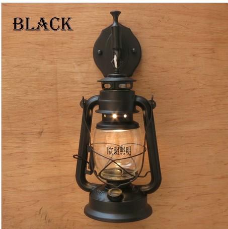 Fashion Antique Wall Lights Wrought Iron Vintage Lantern Kerosene Lamp Lamps Pendant Online With 5126 Piece On