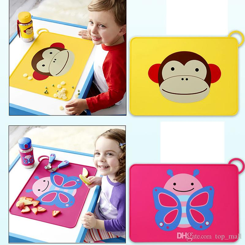 Superior 2018 New Waterproof Non Slip Placemat Table Mat Cut Cartoon Silicone Baby  Children Dining Placemats Portable Table Mats From Top_mall, $8.8 |  Dhgate.Com