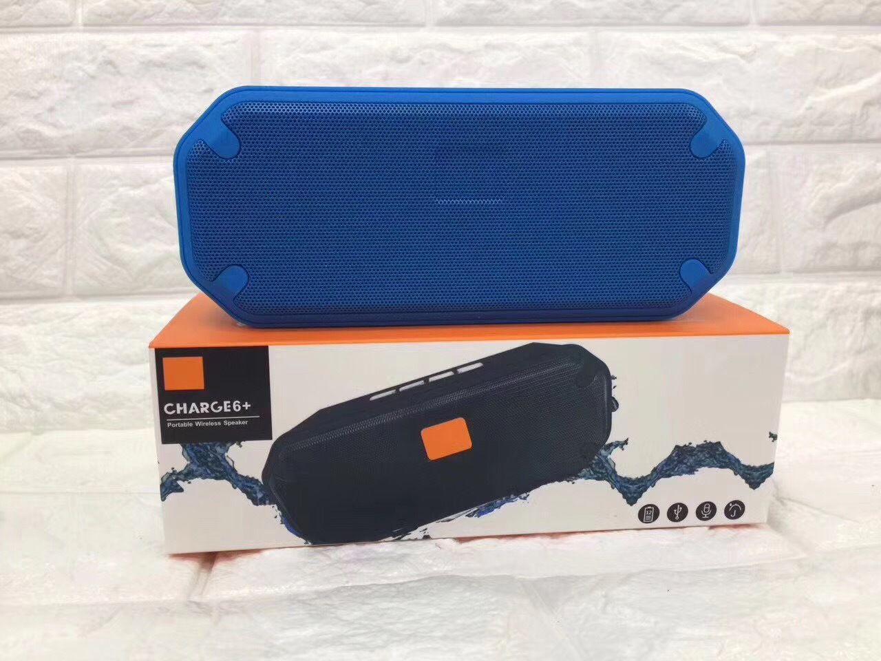 Official charge6 mini wireless Bluetooth speaker subwoofer waterproof desktop gift Bluetooth speaker pk charge4 clip2 flip3