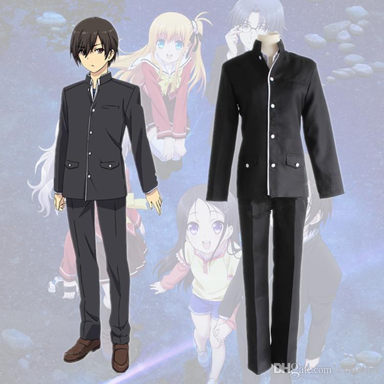 Japanese Anime Charlotte Cosplay Otosaka Yuu Costume For ...