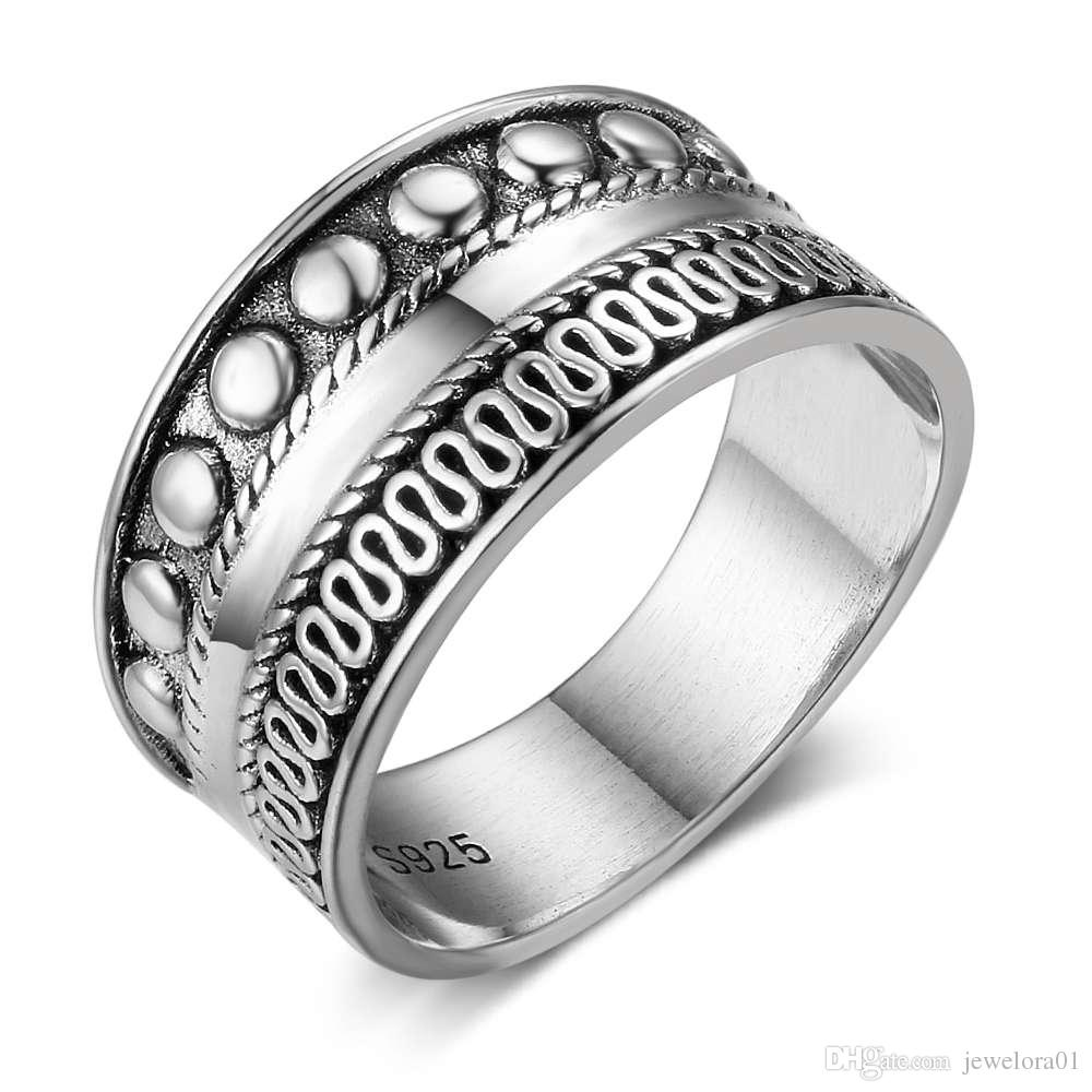 jewellery ring silver band image ladies sterling engagement rings womens