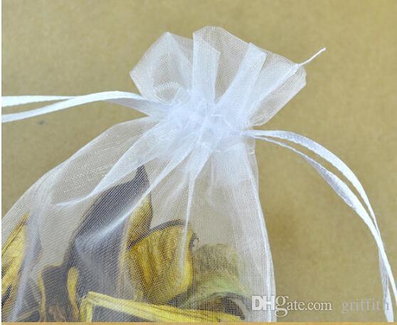 Al por mayor-20 x 30 cm grande regalo de la joyería del organza bolsa de la bolsa de bolsas de organza para el regalo SH-BZD # 022 Envío libre !!!