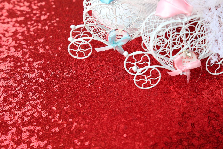 72inch Casa della copertura rotonda Gold Glitter Sequin Tovaglia Wedding Decorazione della tavola il banchetto del partito