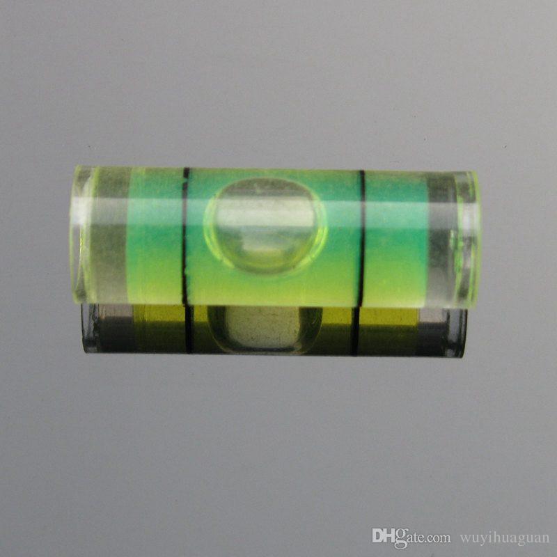 /  8 * 23 mm 플라스틱 튜브 레벨 버블 스피릿 레벨 버블 4 색