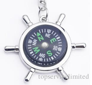 Fashion Accessories High rudder compass keychain compass Mini compass King ring pocket Outdoor Gadgets Hiking & Camping Outdoor Gear