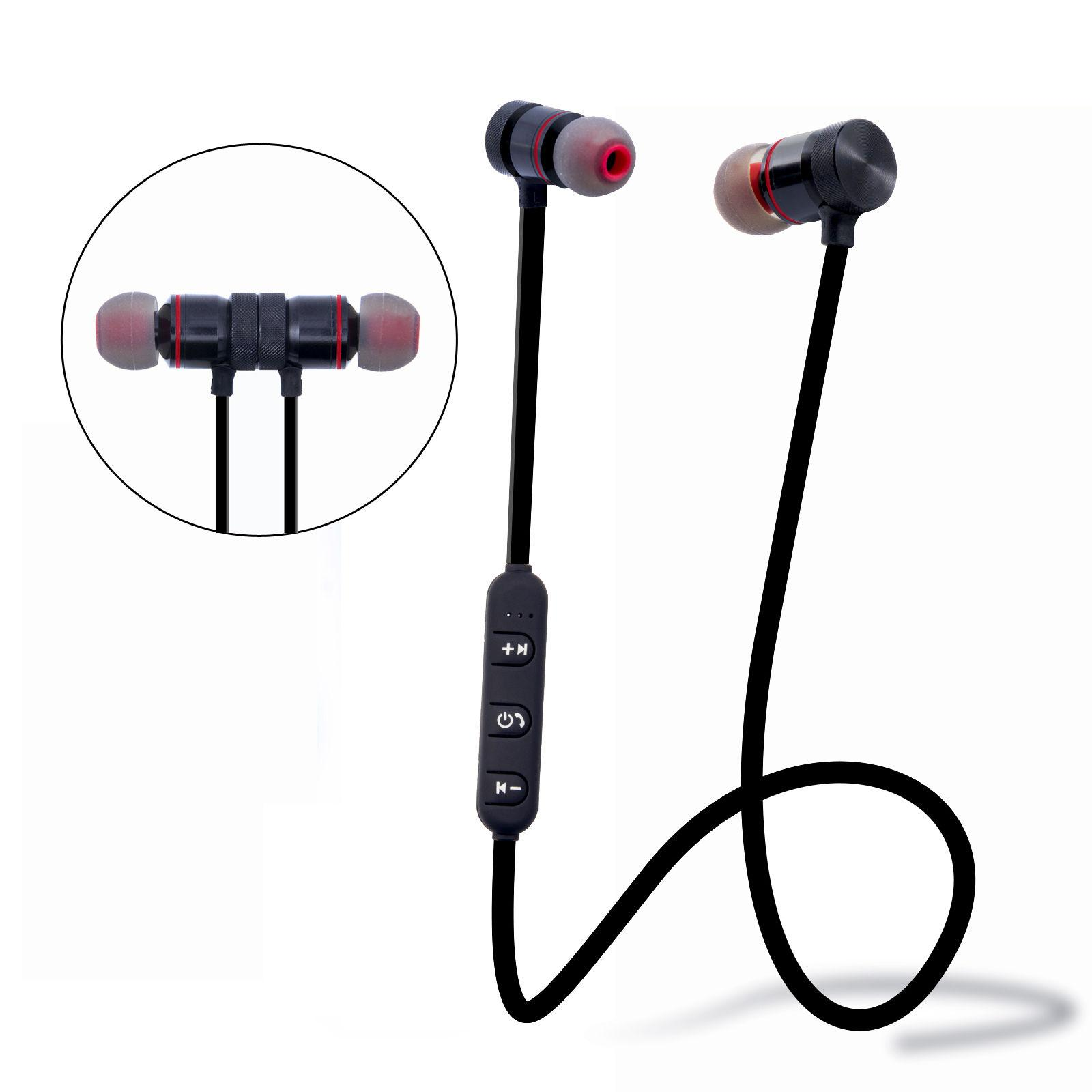 Bluetooth Auricolari Cuffie Magnetic Stereo Headset With Mic For Smartphone  M102 Bluetooth Magnetic Mini Wireless Sport For Game Player Wireless  Headset For ... 50db9da852b2