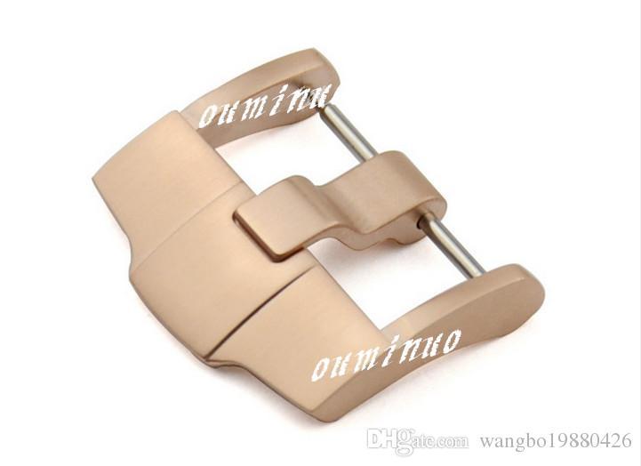 Frete Grátis 24mm Novo aço Brushed Watch Band Strap pin fivela Para AP Watch band strap