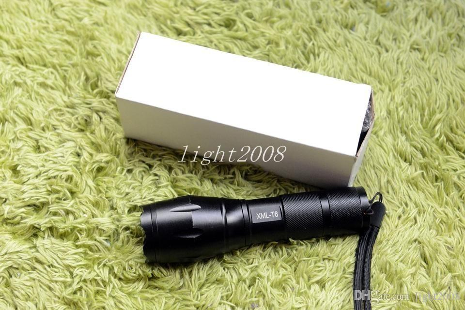E17 Cree LED flashlight 3800 lumens tactical waterproof scale powerful XML T6 camping lights the torch linternas lead