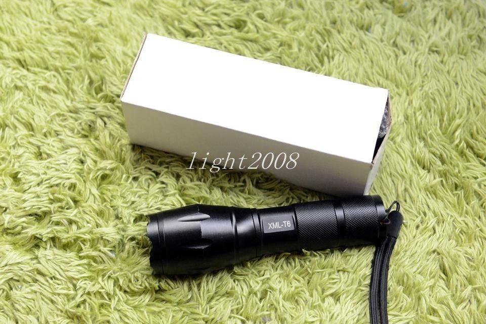 E17 Cree LED lampe de poche 3800 lumens échelle imperméable tactique puissant XML T6 camping allume la torche linternas plomb livraison gratuite