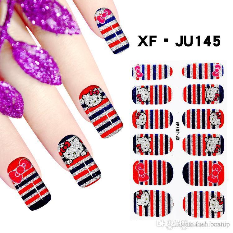 Nail Art Sticker Decorations Manicure Nails Sticker Waterproof ...