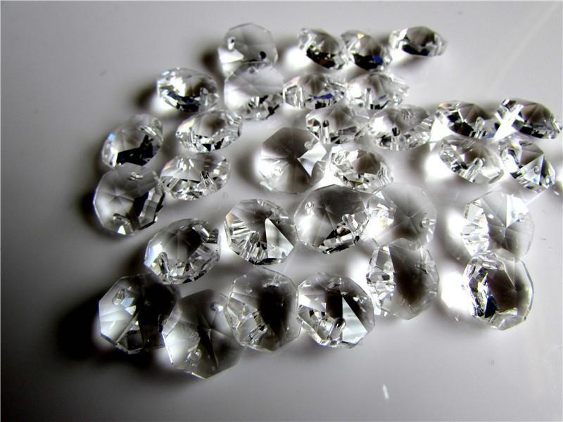 Kronleuchter Mit Glasperlen ~ Großhandel mm octagon glasperlen in zwei löchern freies