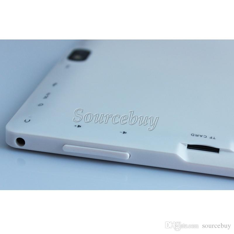 Tablet PC 512 MB de RAM 4 GB ROM Q88 Quad A33 Dual Core Câmeras 7