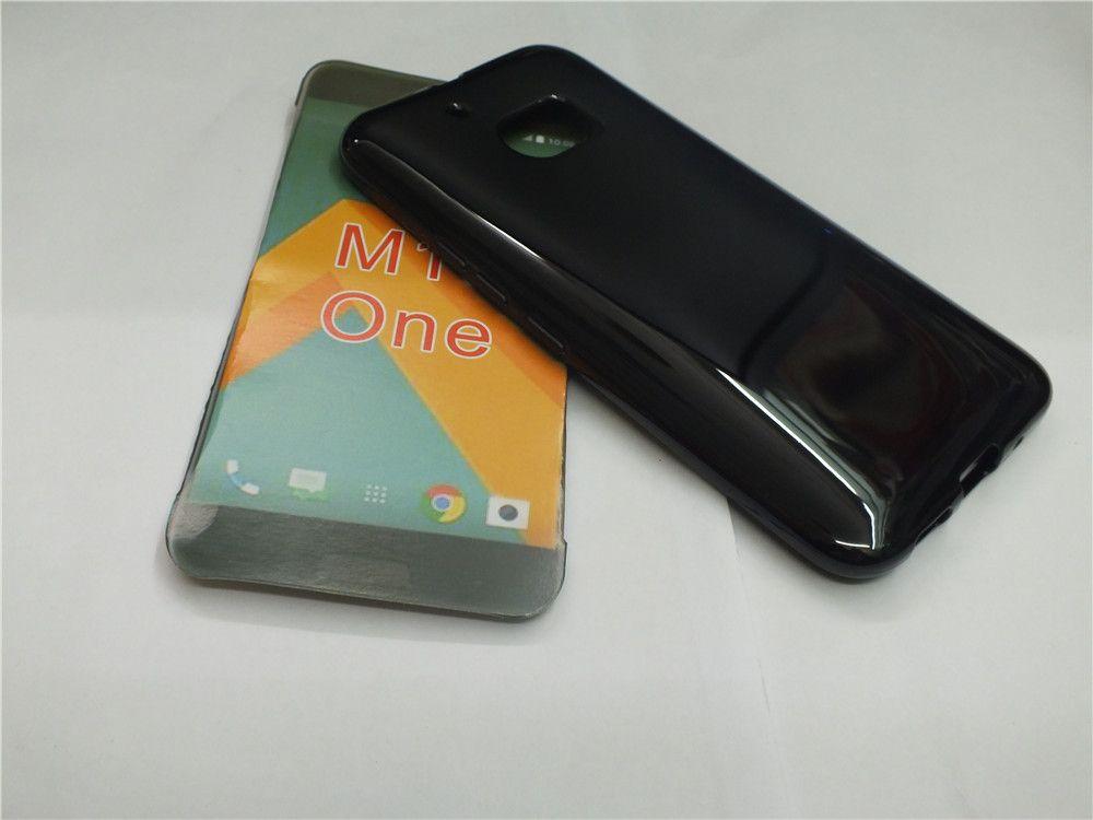 Cubiertas de TPU transparentes, fundas de gel transparente de gel suave de TPU para fundas de teléfonos móviles HTC One M10
