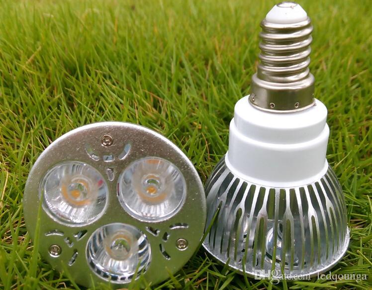 3W GU10 E27 E14 LED Strahler Glühlampe AC 85-265V GU 10 Deckenstrahler 3 LED Strahler Warmweiß Kaltweiß für das Badezimmer im Schlafzimmer