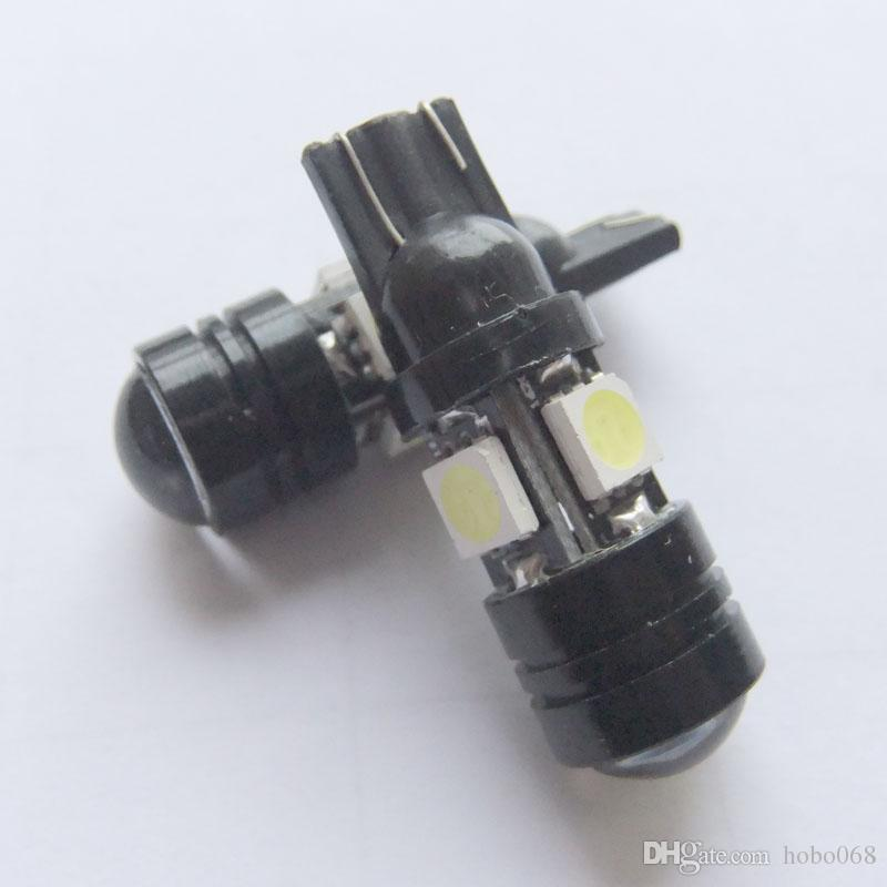ampoules blanches 4-SMD 5050 LED pour la lumière de stationnement de voiture 168 194 2825 5W 12v DIY