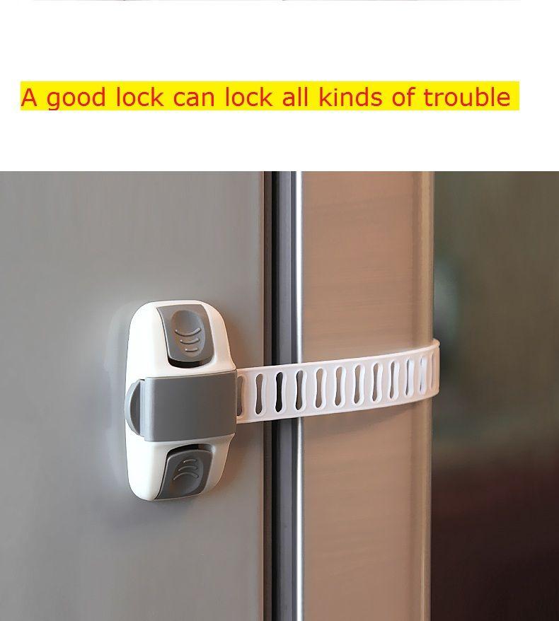 Wholesale Siriusha 04 Infant Drawer Buckle Child Safety Lock Baby Safety  Fridge Locking Door Lock Child Safety Baby Safety Lock Online With  $3.83/Piece On ...