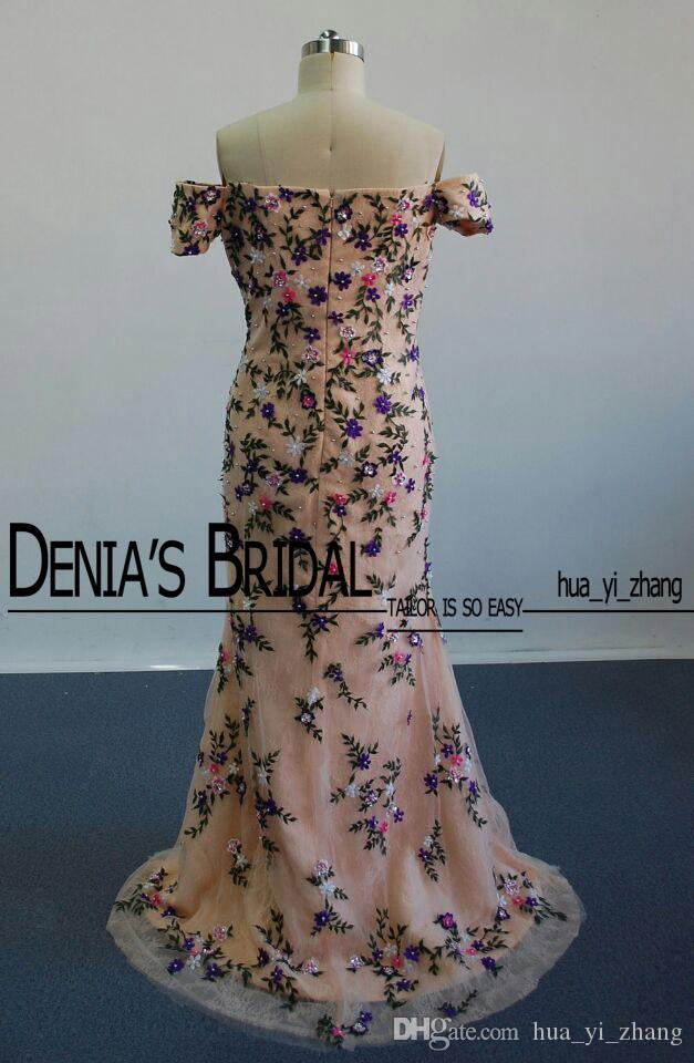 Myriam Fares Aishwarya Rai Celebrity Dresses Cannes Film Festival 2016 Real Images Embroidery Beaded Evening Gowns with Detachable Overskirt