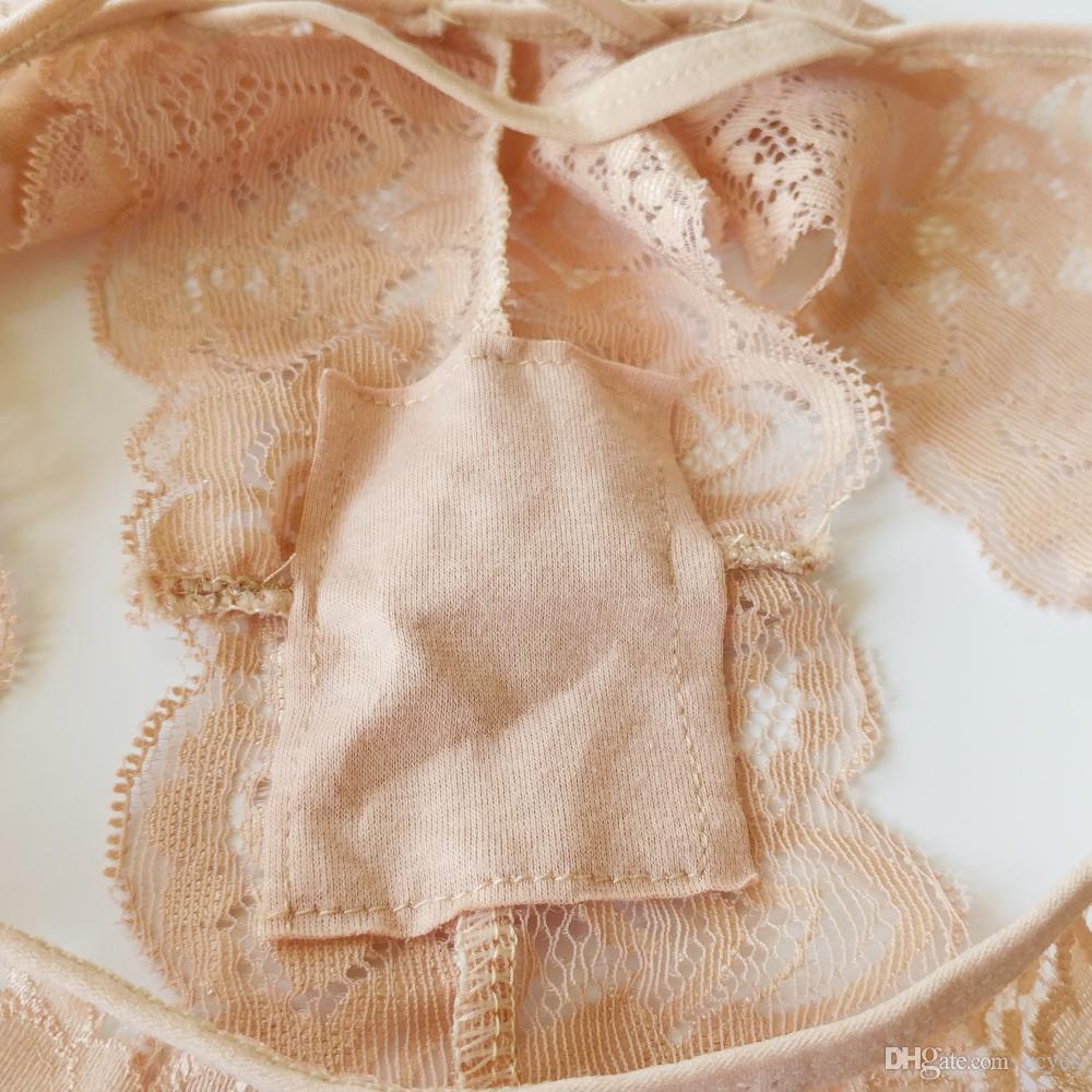섹시한 가죽 여성 레이스 Transprent 낮은 허리 통 속옷 속옷 레이스 팬티 2017 새로운 패션 Tangas 3305