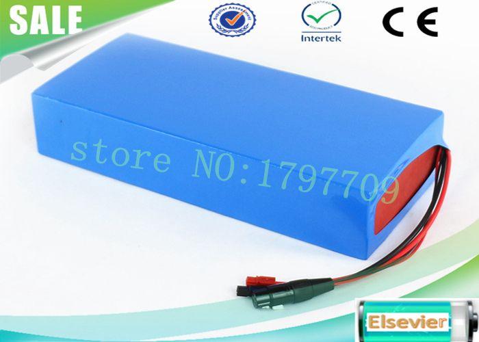 EU US No hay impuestos Batería de iones de litio de envío gratis 24V 12Ah Batería de iones de litio con funda de PVC + BMS + cargador