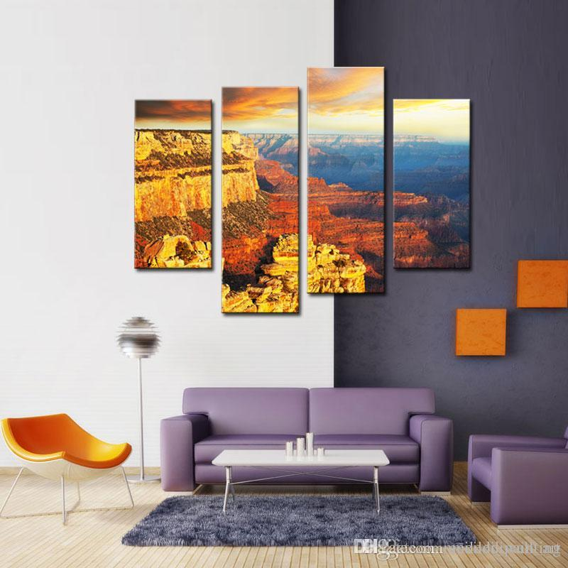 Wholesale Wall Art In The Grand Canyon Pictures Prints On Canvas Landscape  Decor Oil For Home Modern Decoration Print For Kids Room By  Meiledi_wall_art ...