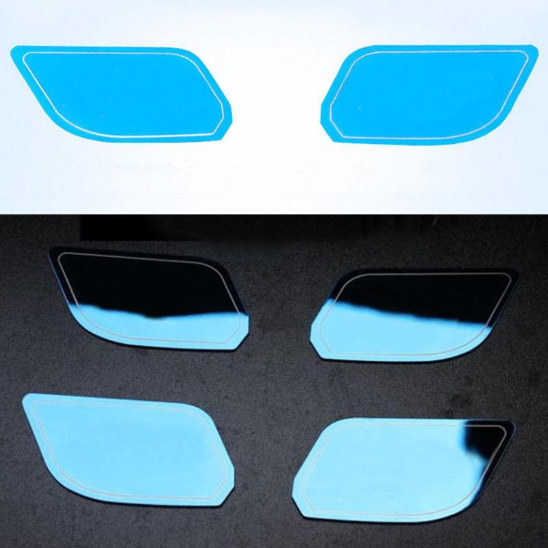 4X Para Chevrolet Malibu 2016 Porta de aço azul Dentro Porta bacia guarnição decoração