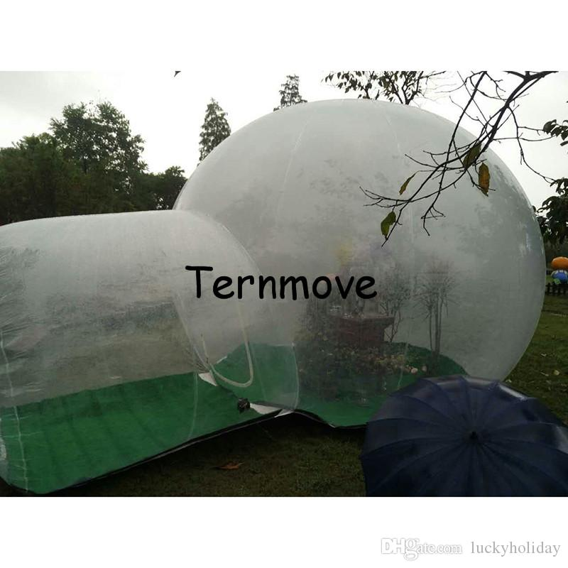 Trade Show Exhibition Tent 4m diameter room Commercial Advertising Inflatable Tent for Event Inflatable Bubble House for camping