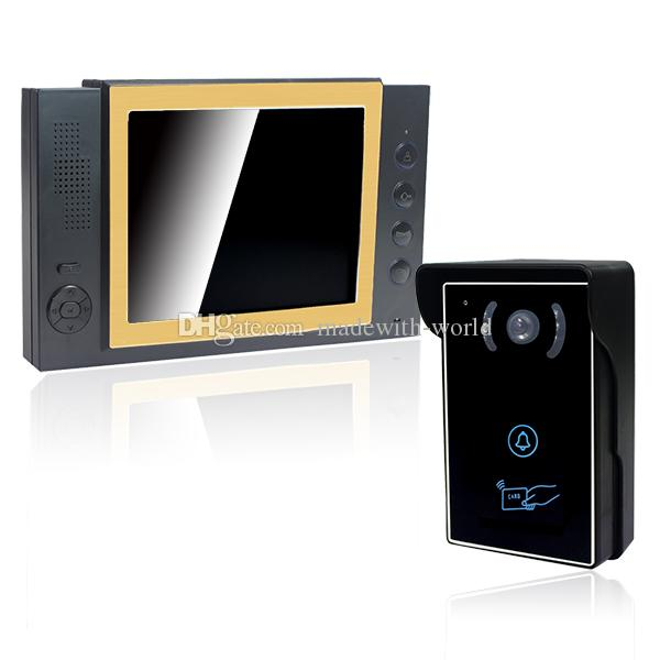 See larger image  sc 1 st  DHgate.com & 8 Tft Wired Video Door Phone With Sd Card Record Monitor +Camera ... pezcame.com