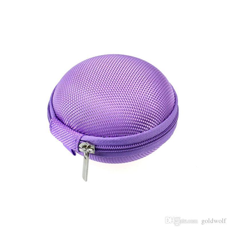 Zipper Sac Ecouteurs Câble Mini Box SD Carte Portable Porte-Monnaie Casque Pochette De Transport Poche Etui Couverture De Stockage livraison gratuite