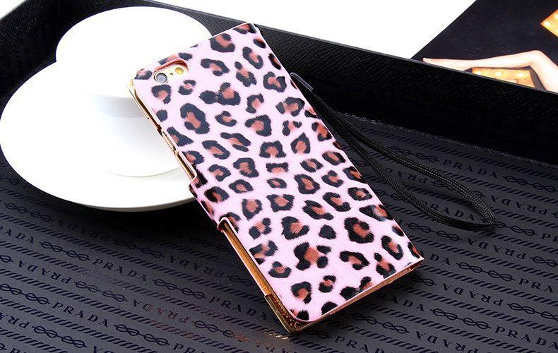 IPhone 7 6 6S Plus Luxury Wallet Leopard Flip Leather Case For iPhone 6 6S 7 4.7 /7 Plus Diamond Cover