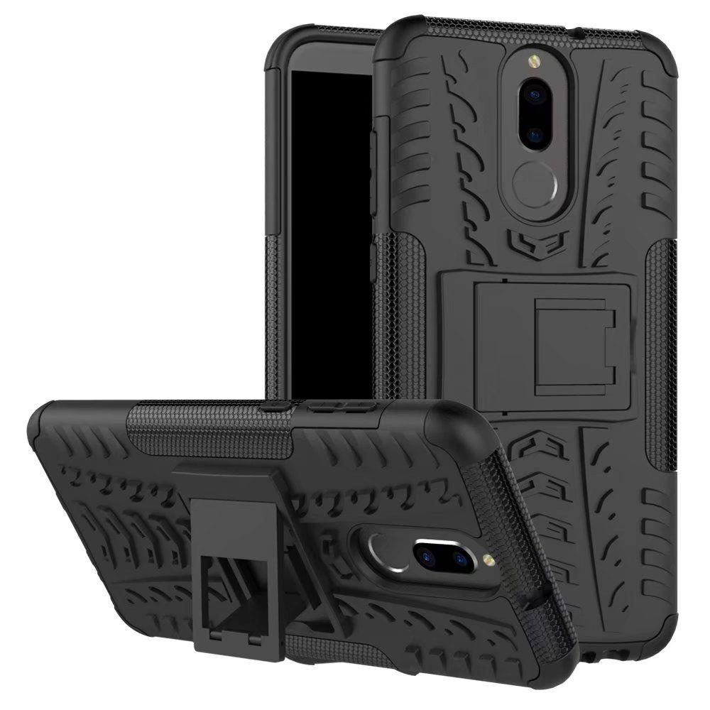 Pour Huawei Mate 10 Lite Case Hybrid Armure Dur En Caoutchouc Dur Retour Couverture Pour Huawei Nova 2i Stand Couverture
