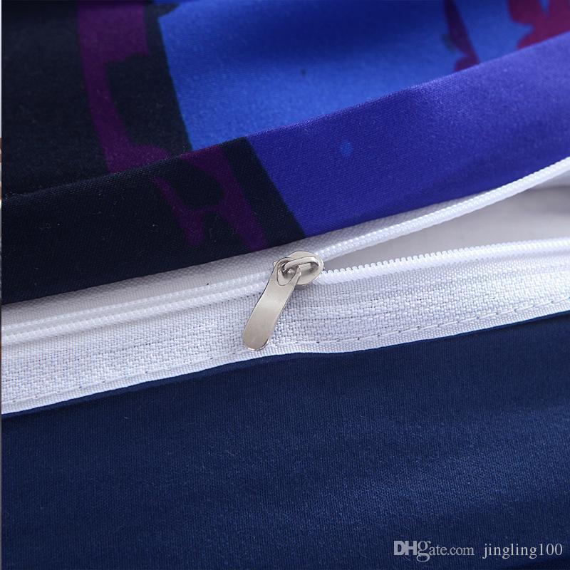 3 Teile / satz Böhmen moderne bettwäsche Luxus Quilt Set blume 3D druck Böhmen bettwäsche 100% baumwolle bettwäsche bettwäscheOutlet Mandala Bedd