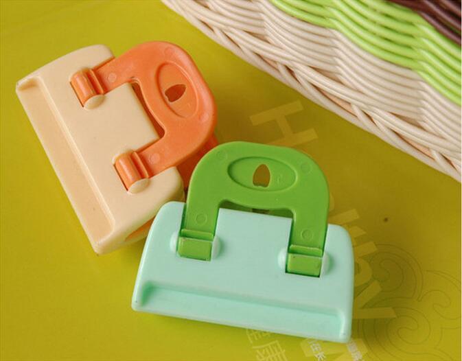 Candy Plastiktüte Dichtung Clips für Küche Lagerung Essen frisch halten Tasche Clip Homen Küche Lagerung Werkzeug Helfer Organisation