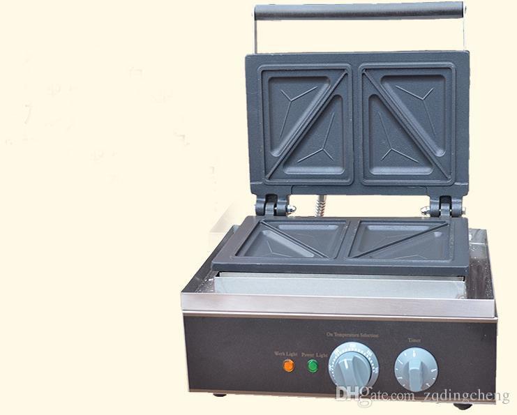 Envío gratis ~ Eléctrica 110 V 220 V Sandwich Maker Tostadora Makre Máquina