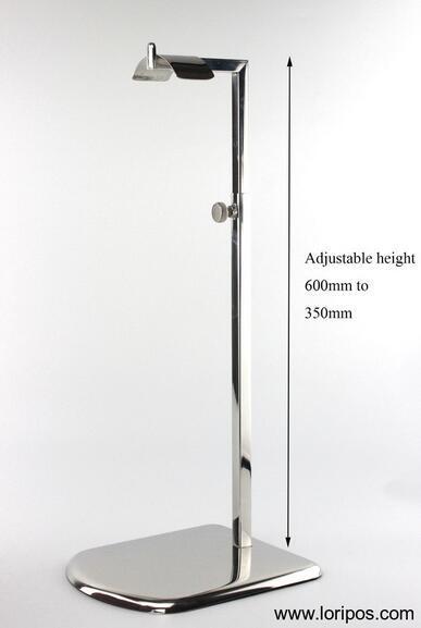 Metall edelstahl tasche halter display rack shop shop frauen tasche halter stehen