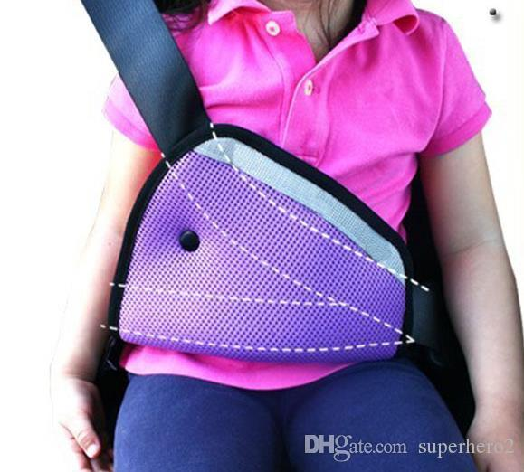 Ceinture de securite pour enfant Sangle de securite de voiture Sangle de protection de ceinture Harnais de protection confortable Protection pour enfant