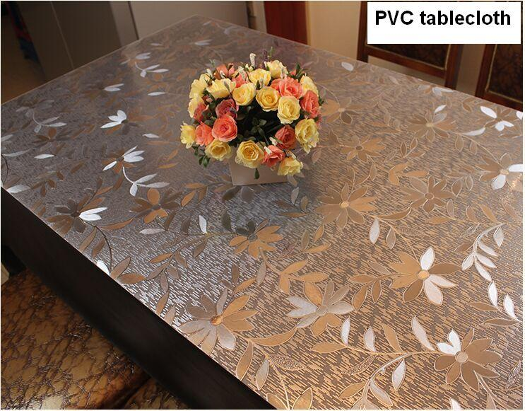 Waterproof Pvc Table Cloth Soft Translucent Glass Plastic Table Cloth 1mm  Buy Tablecloth Online Dining Table Cloth Online From Bluesky11, $19.65|  Dhgate.Com